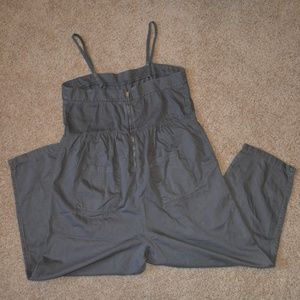 Anthropologie Pants - Postmark Anthro Romper/Jumpsuit Gray Womens XL